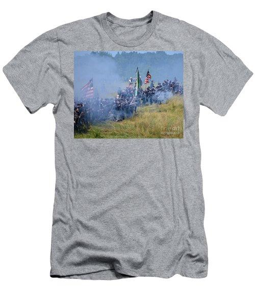 Gettysburg Union Infantry 8947c Men's T-Shirt (Athletic Fit)