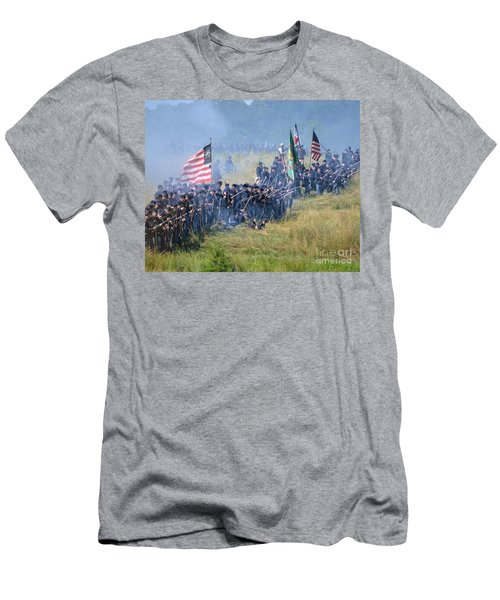 Gettysburg Union Infantry 8948c Men's T-Shirt (Athletic Fit)