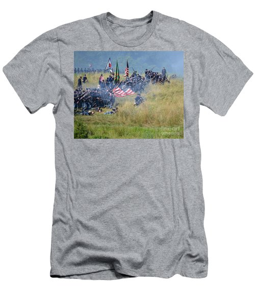 Gettysburg Union Infantry 8963c Men's T-Shirt (Athletic Fit)
