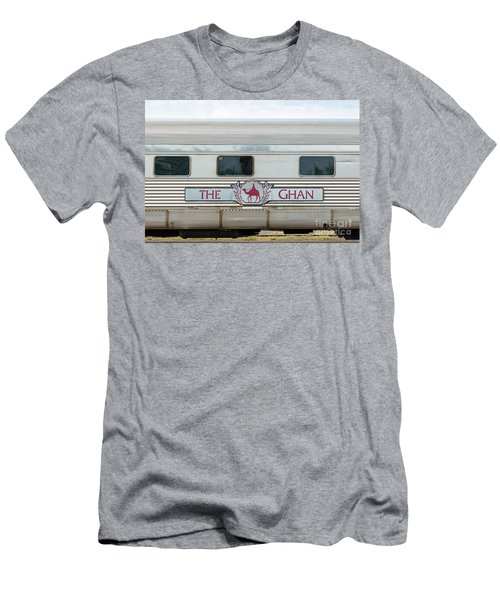 Ghan Train At Alice Springs Men's T-Shirt (Athletic Fit)