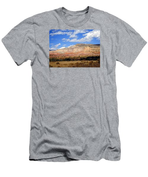 Men's T-Shirt (Slim Fit) featuring the photograph Ghost Ranch New Mexico by Kurt Van Wagner