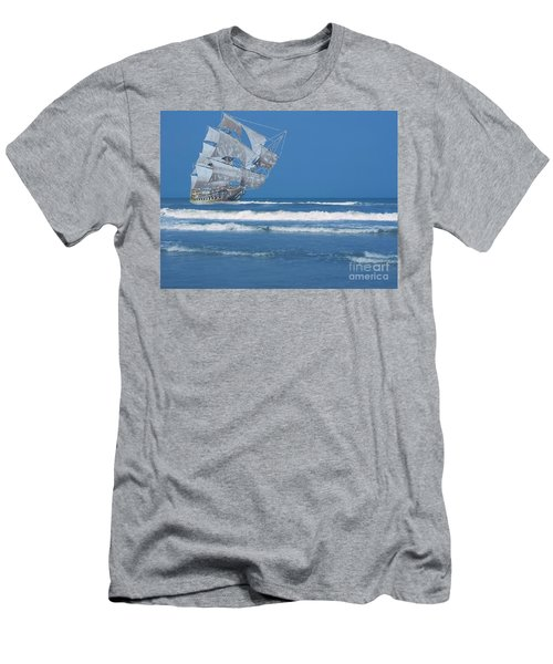 Ghost Ship On The Treasure Coast Men's T-Shirt (Athletic Fit)