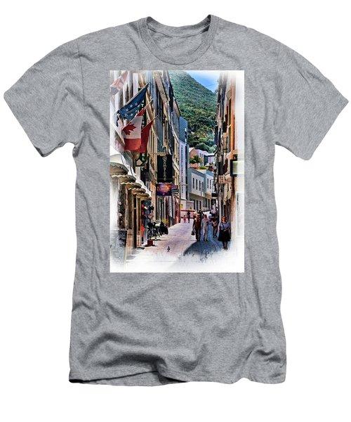 Gibraltar Men's T-Shirt (Athletic Fit)