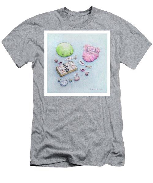 Gari-san And Wasabi-san Enjoy A Lovely Dinner Men's T-Shirt (Athletic Fit)