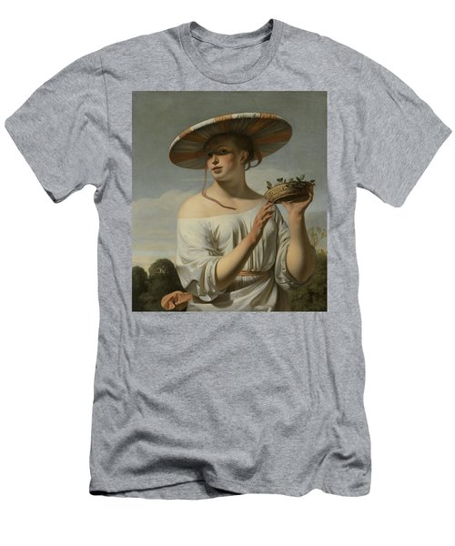 Girl In A Large Hat, C.1645-1650 Men's T-Shirt (Athletic Fit)