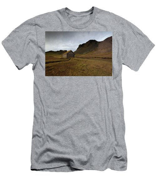 Men's T-Shirt (Slim Fit) featuring the photograph Give Me Shelter by Allen Biedrzycki