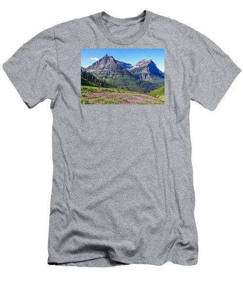 Glacier Park Bedazzeled Men's T-Shirt (Athletic Fit)