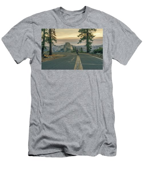 Glacier Point Adventure Men's T-Shirt (Athletic Fit)