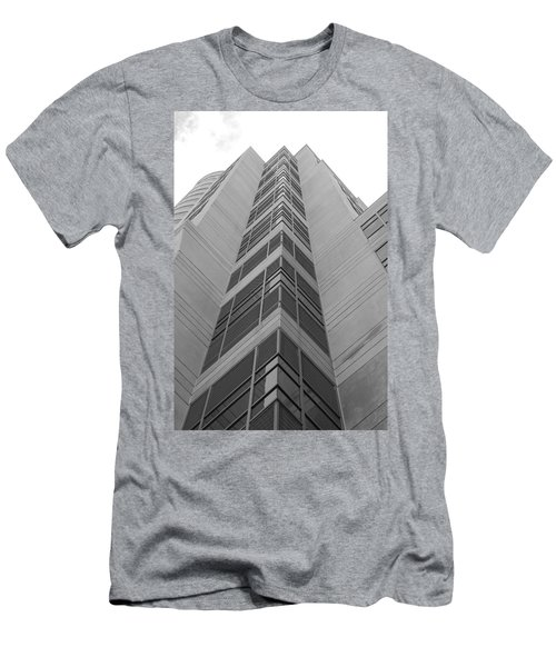 Men's T-Shirt (Slim Fit) featuring the photograph Glass Tower by Rob Hans