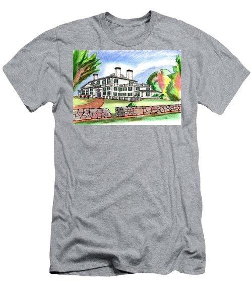 Glen Magna Farms Danvers Men's T-Shirt (Slim Fit) by Paul Meinerth