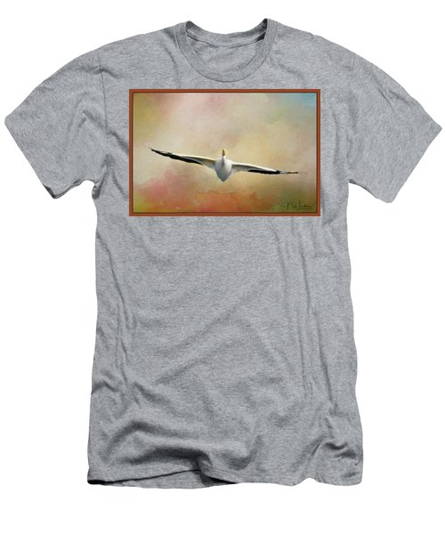 Gliding On Air Men's T-Shirt (Athletic Fit)