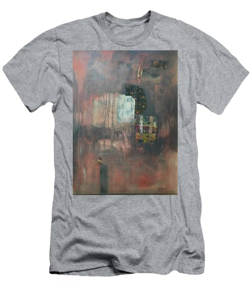 Glimpse Of Town Men's T-Shirt (Athletic Fit)