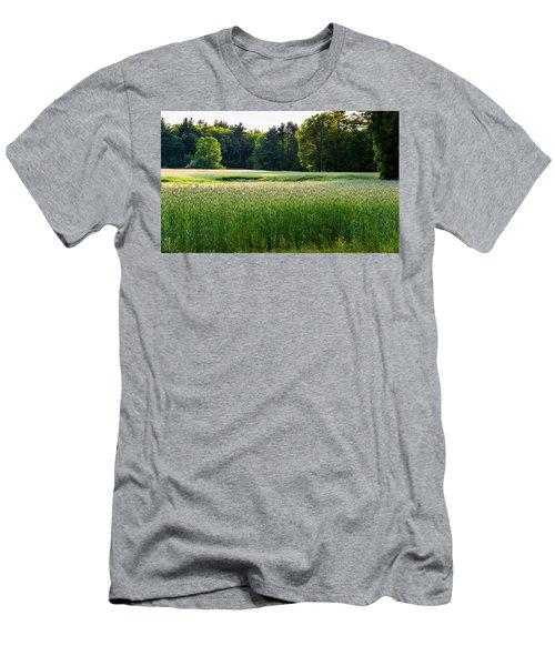 Glistening Green Men's T-Shirt (Athletic Fit)