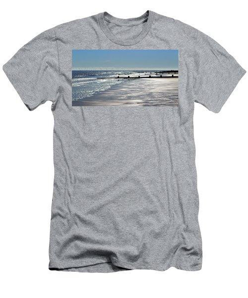 Glistening Shore Men's T-Shirt (Athletic Fit)