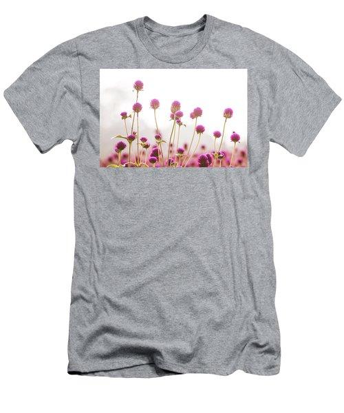 Globe Amaranath Men's T-Shirt (Slim Fit) by Hyuntae Kim