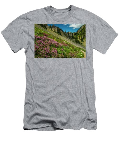 Glorious Mountain Heather Men's T-Shirt (Athletic Fit)