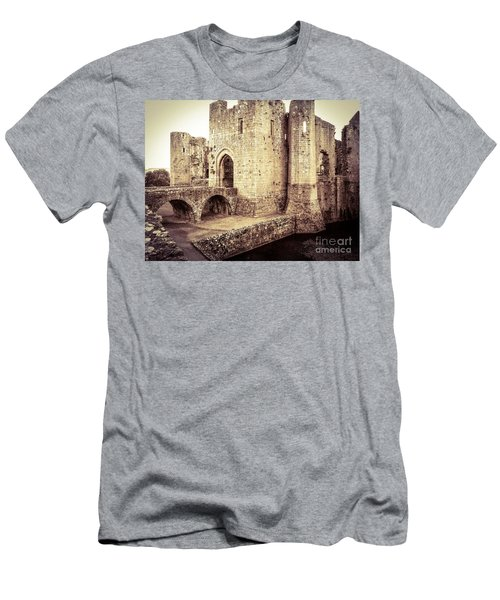 Glorious Raglan Castle Men's T-Shirt (Athletic Fit)