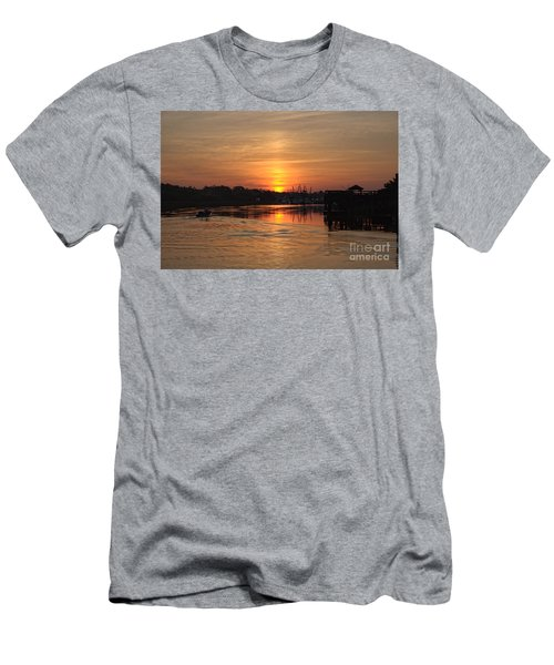 Glory Of The Morning On The Water Men's T-Shirt (Athletic Fit)