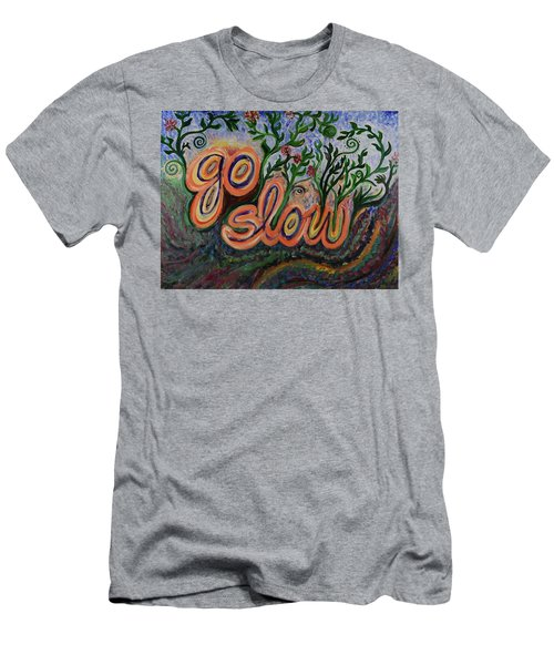 Go Slow Men's T-Shirt (Athletic Fit)