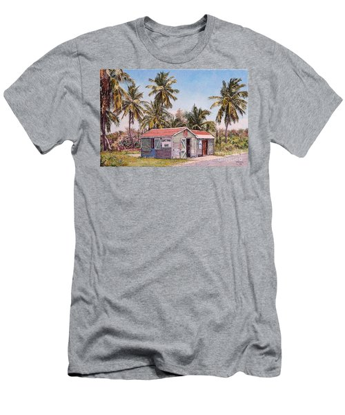 Goat Pond Bar Men's T-Shirt (Athletic Fit)