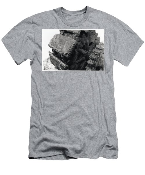 Goat Rock Tractor Tread Jenner California Men's T-Shirt (Athletic Fit)