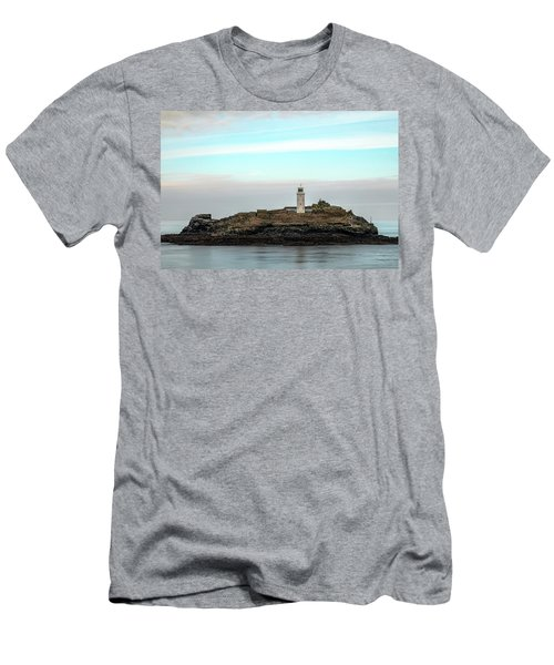 Godrevy Lighthouse - England Men's T-Shirt (Athletic Fit)
