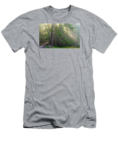 God's Light Men's T-Shirt (Athletic Fit)