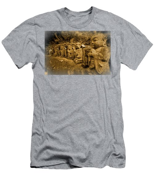 Men's T-Shirt (Slim Fit) featuring the photograph Gods Of Japan by Daniel Hagerman