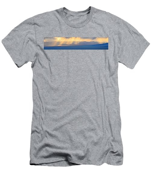 God's Rays Over The Great Basin  Men's T-Shirt (Athletic Fit)