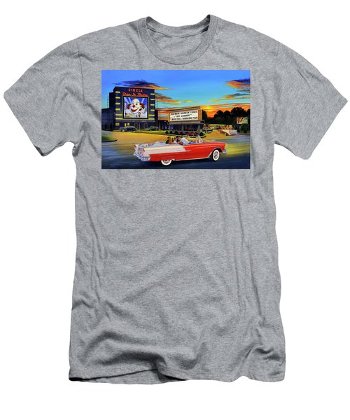 Goin' Steady - The Circle Drive-in Theatre Men's T-Shirt (Athletic Fit)