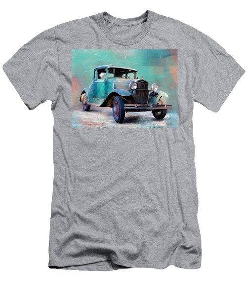 Going Visiting Men's T-Shirt (Slim Fit) by Debra Baldwin