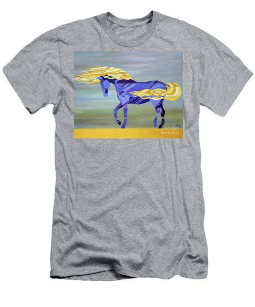 Going With The Flow Men's T-Shirt (Athletic Fit)