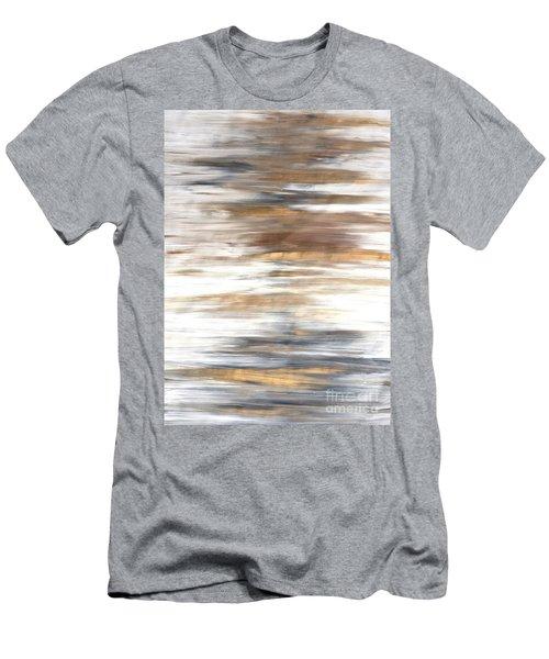 Gold Coast #22 Landscape Original Fine Art Acrylic On Canvas Men's T-Shirt (Athletic Fit)