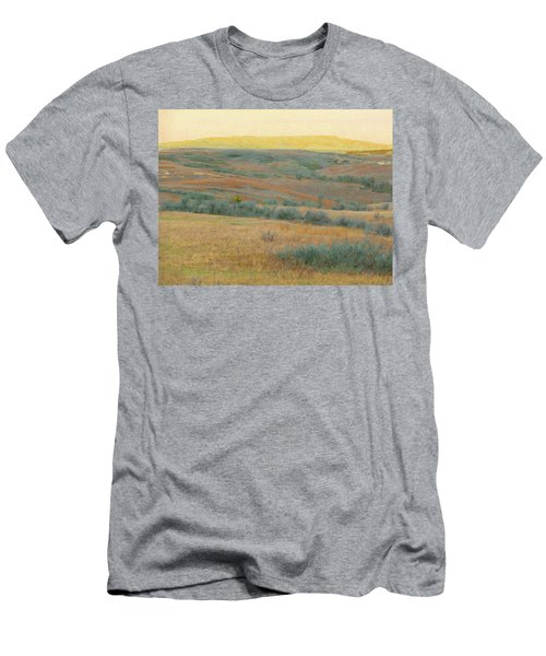 Golden Dakota Horizon Dream Men's T-Shirt (Athletic Fit)