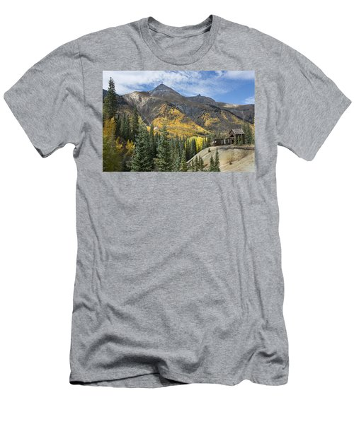 Men's T-Shirt (Athletic Fit) featuring the photograph Golden Days by Angela Moyer