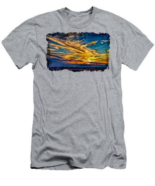 Golden Evening 2 Men's T-Shirt (Athletic Fit)
