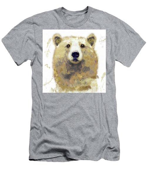 Golden Forest Bear Men's T-Shirt (Athletic Fit)