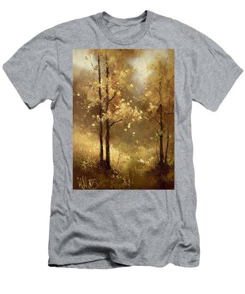 Golden Forest Men's T-Shirt (Athletic Fit)