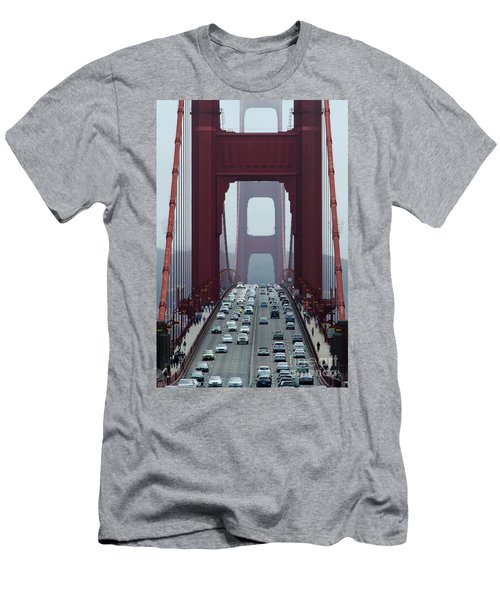 Golden Gate Bridge, San Francisco Men's T-Shirt (Athletic Fit)