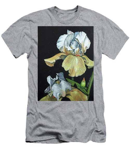 Golden Iris Men's T-Shirt (Athletic Fit)