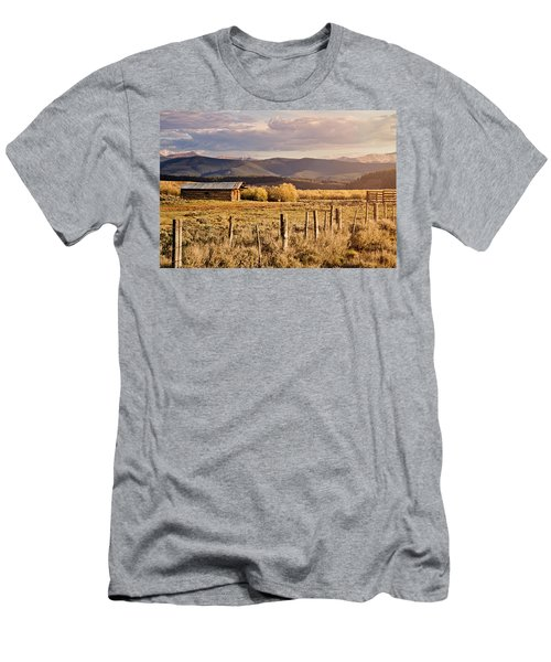 Golden Lonesome Men's T-Shirt (Slim Fit) by Lana Trussell