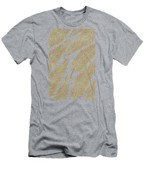 Golden Palm Men's T-Shirt (Slim Fit) by Uma Gokhale