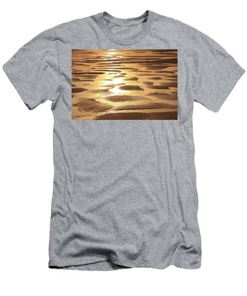 Golden Sands Men's T-Shirt (Slim Fit) by Roupen  Baker