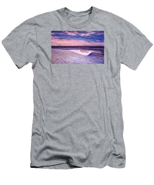 Golden Sea Men's T-Shirt (Slim Fit) by Jeanette Jarmon