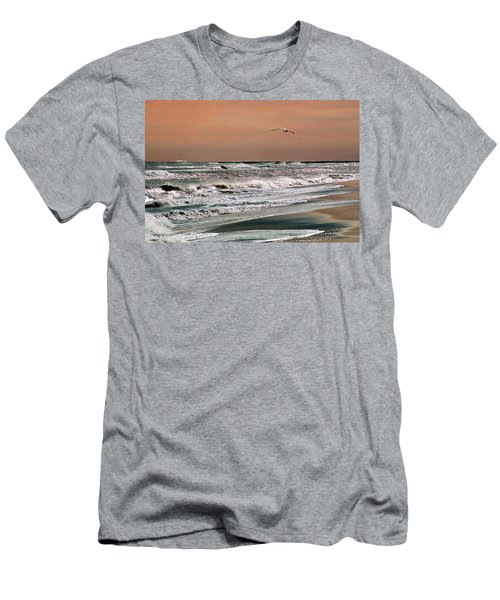 Golden Shore Men's T-Shirt (Slim Fit)