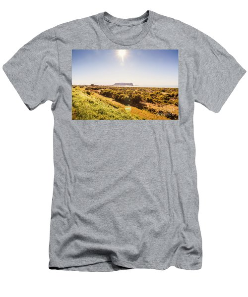 Golden Stanley Landscape Men's T-Shirt (Athletic Fit)