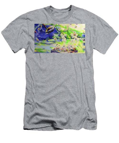 Golfbaelle In Huelle Und Fuelle   Golf Balls Galore Men's T-Shirt (Athletic Fit)
