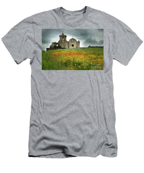 Goliad In Spring Men's T-Shirt (Slim Fit) by Jon Holiday