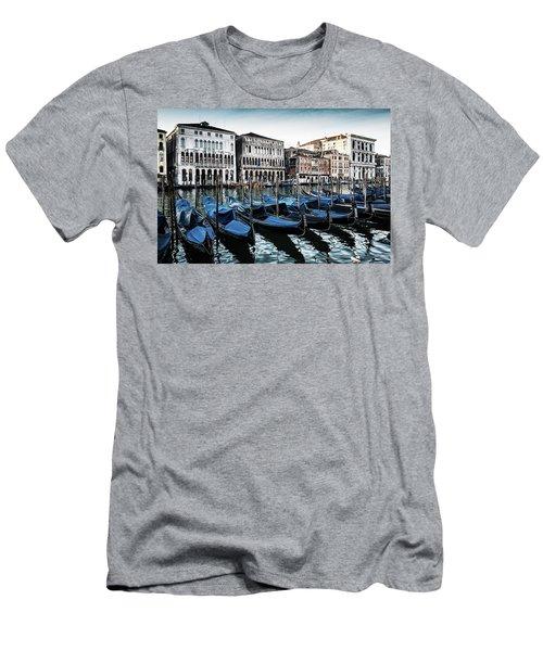 Gondolas Men's T-Shirt (Slim Fit) by M G Whittingham