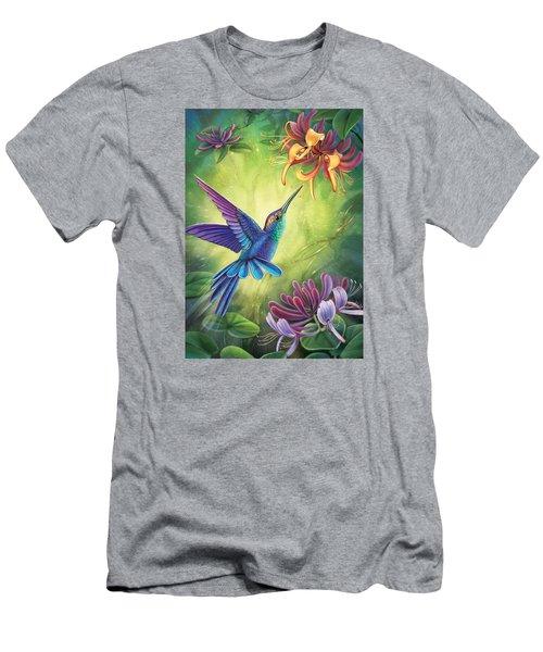 Good Luck - Honeysuckle Men's T-Shirt (Athletic Fit)